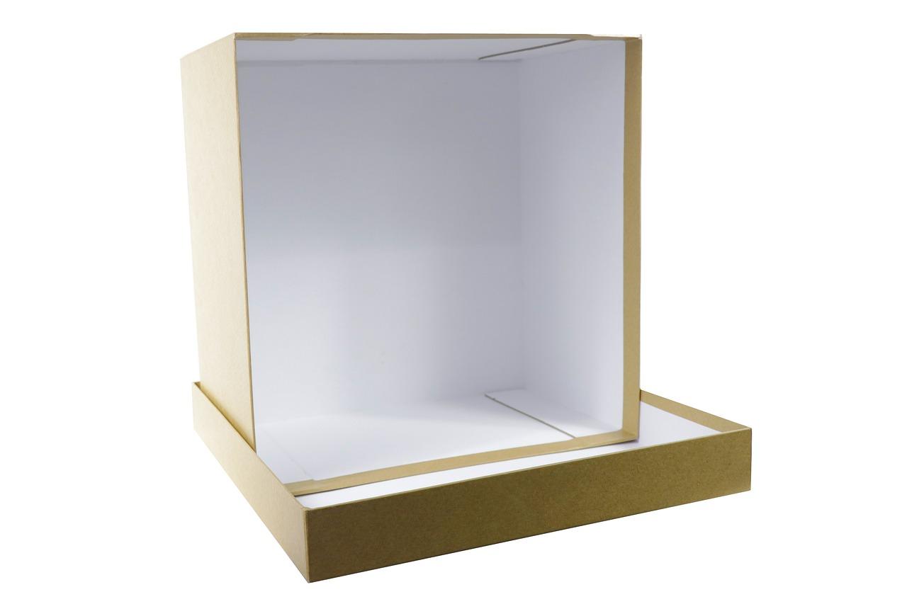 box, present, square